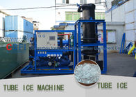 Screw Type Compressor Ice Tube Machine Energy Saving PLC Controller Tube Ice Machine